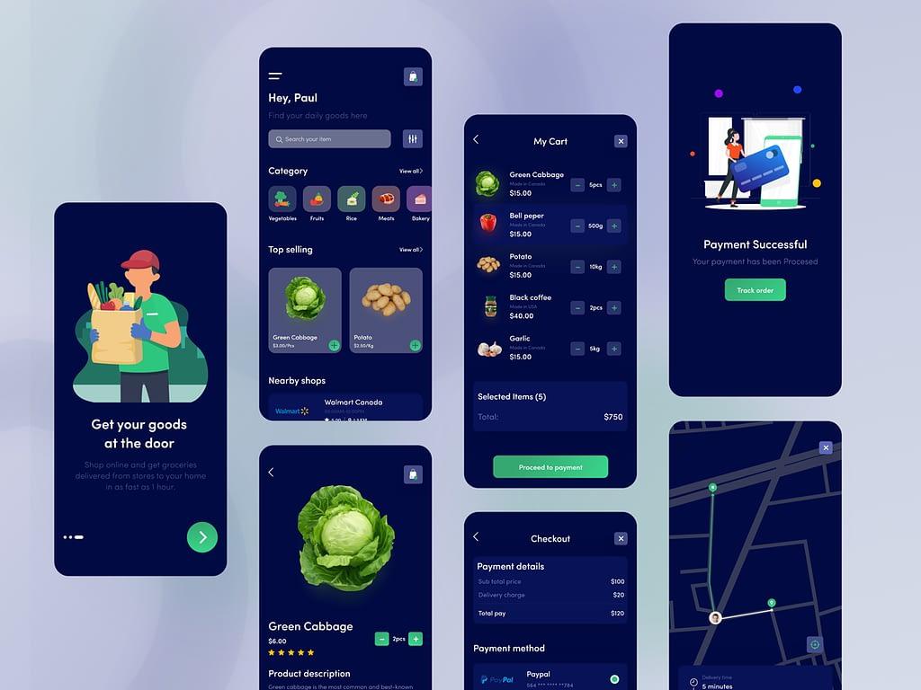 Groceries App Full Flutter Ui By Abdul Momin