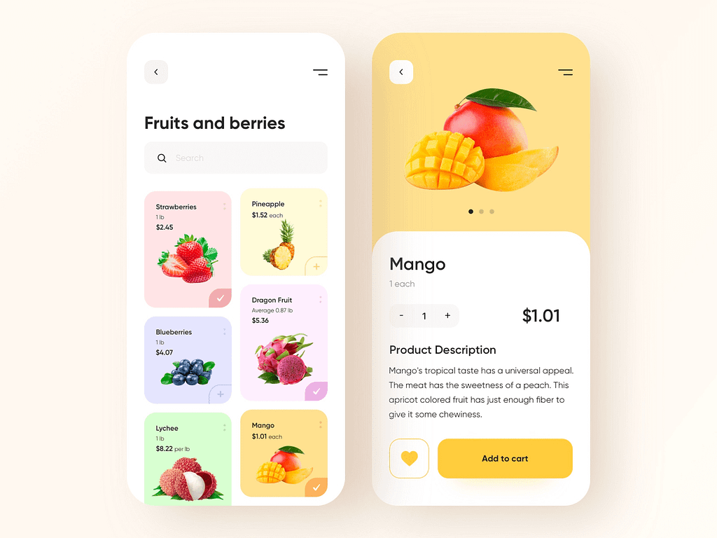 Fruit Shop by Abdul Momin